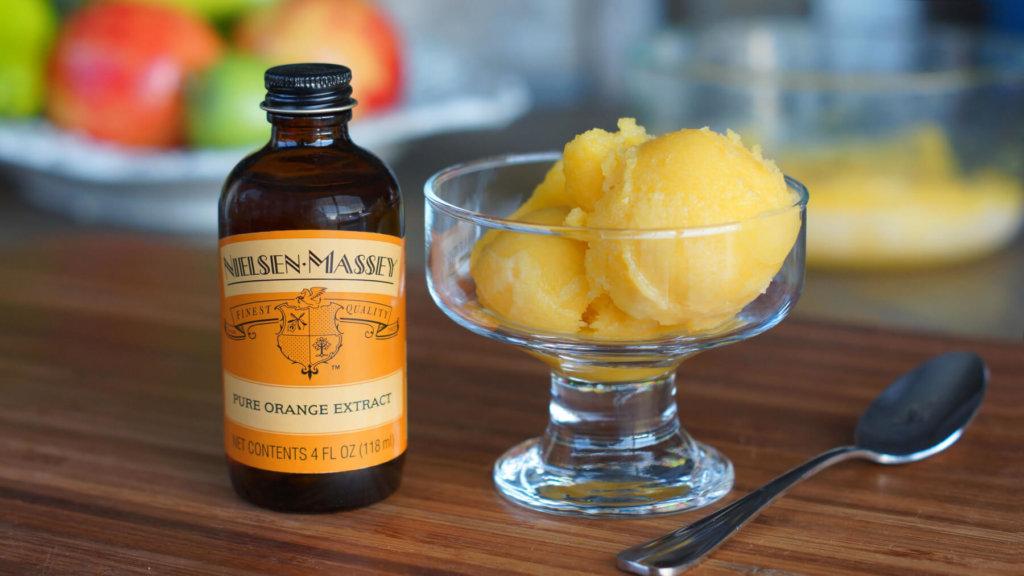 Mango Jalapeno Sorbet