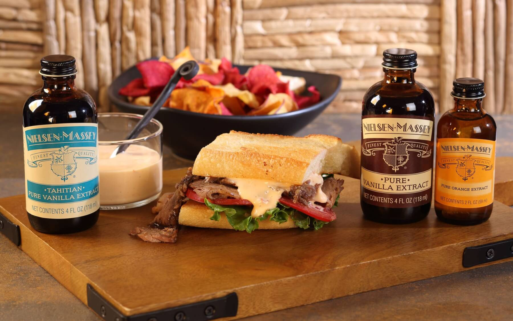 Korean Style Oven Barbecued Beef Brisket Sandwich With