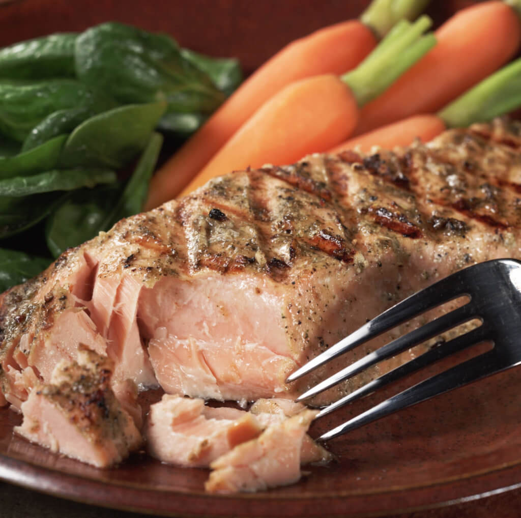 Salmon with Vanilla Balsamic Marinade