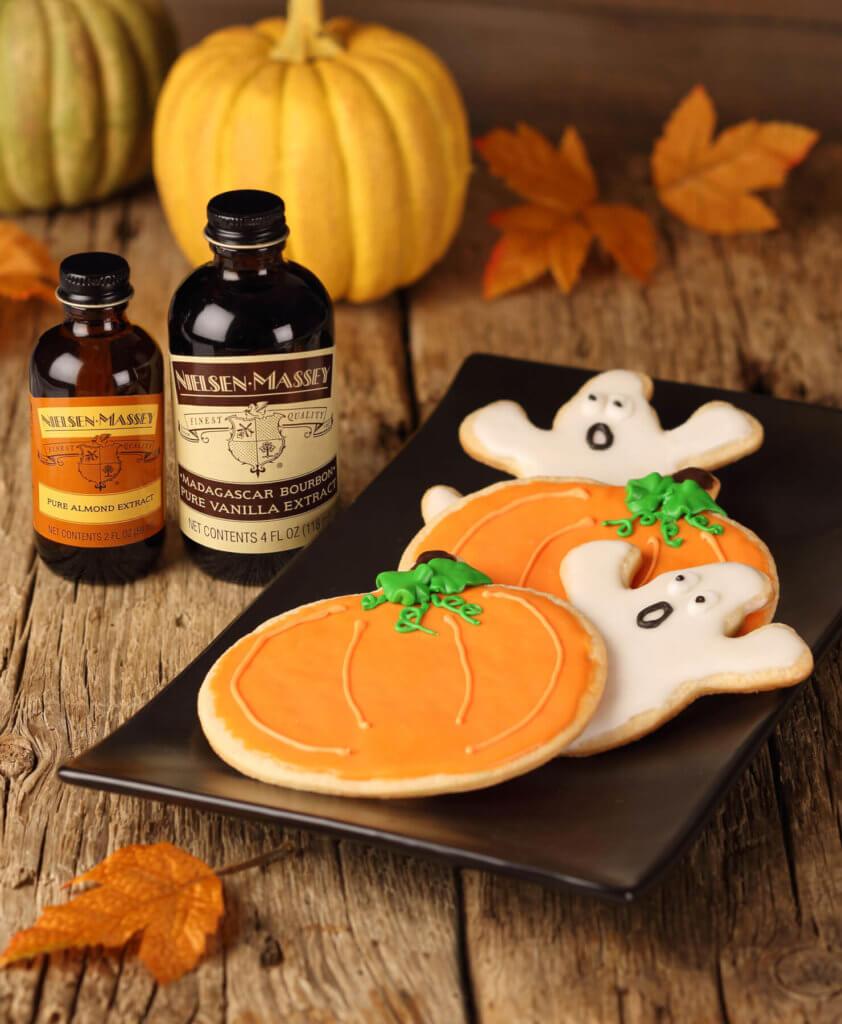 Spooktacular Almond Cookies