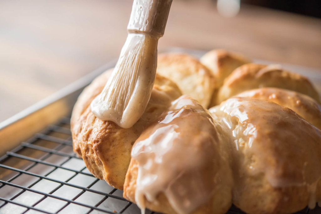 Lemon-Almond Cream Scones