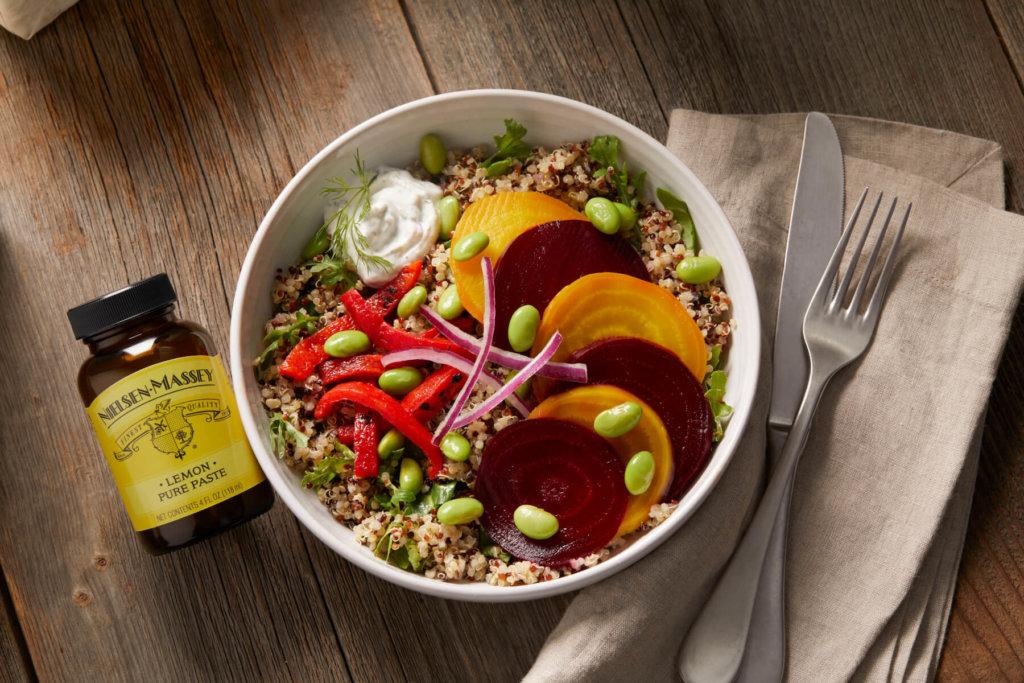 Lemon Dill Quinoa Bowl